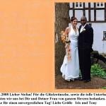Danksagung 2008_04_26_Hochzeit_Iris_und_Tony_Gley_-_ Egelsbach